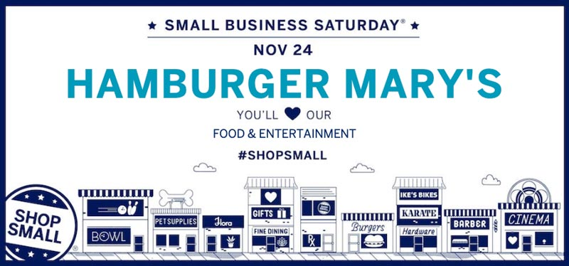 Small Business Saturday. November 24th, 2018