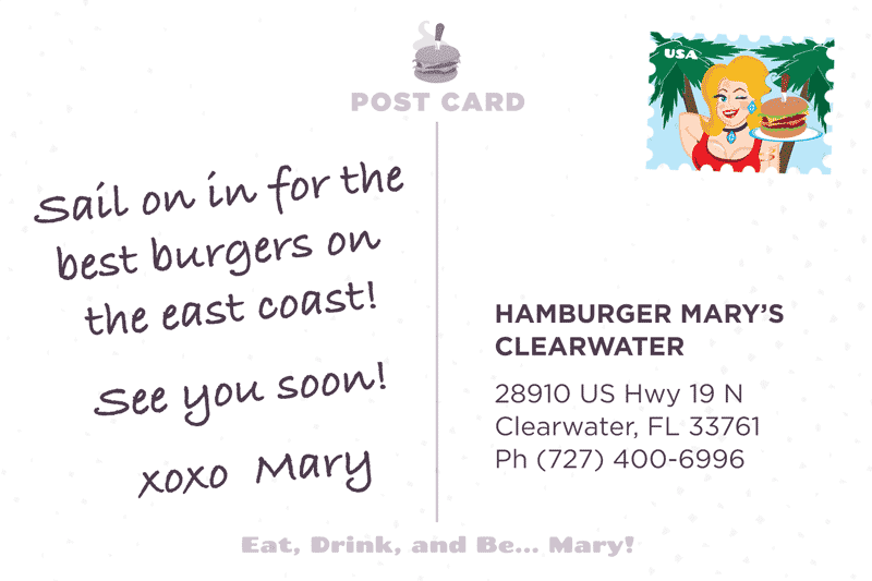 Clearwater Postcard Back