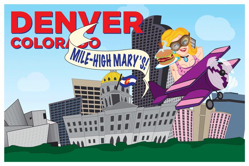 Denver Postcard Front