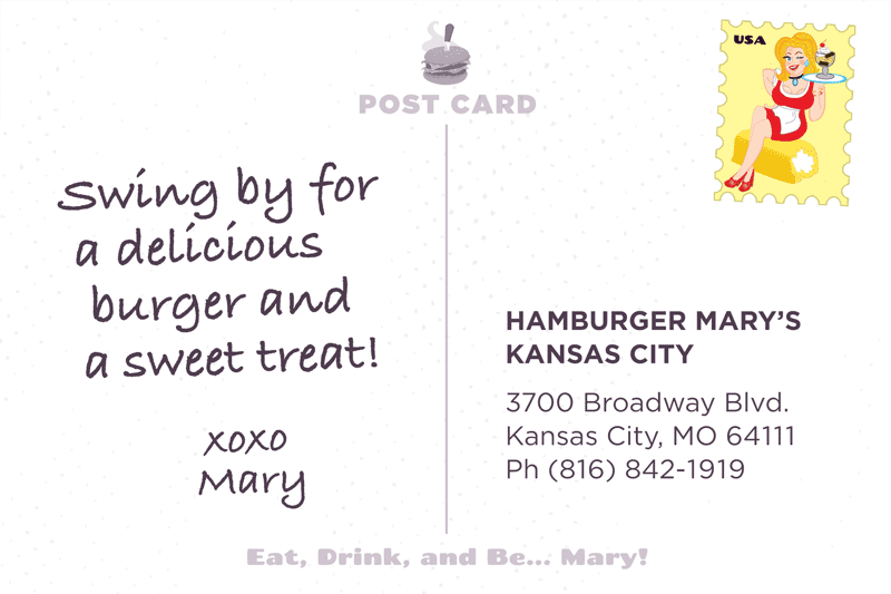 Kansas City Postcard Back