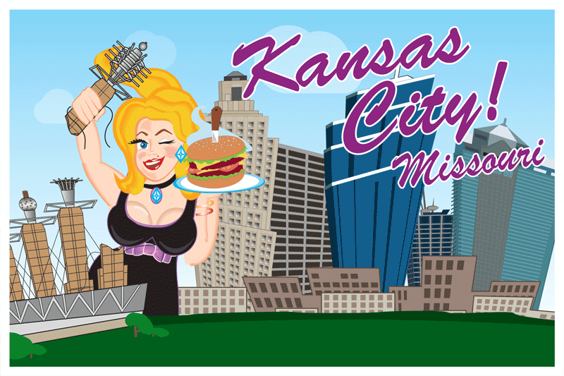 Kansas City Postcard Front