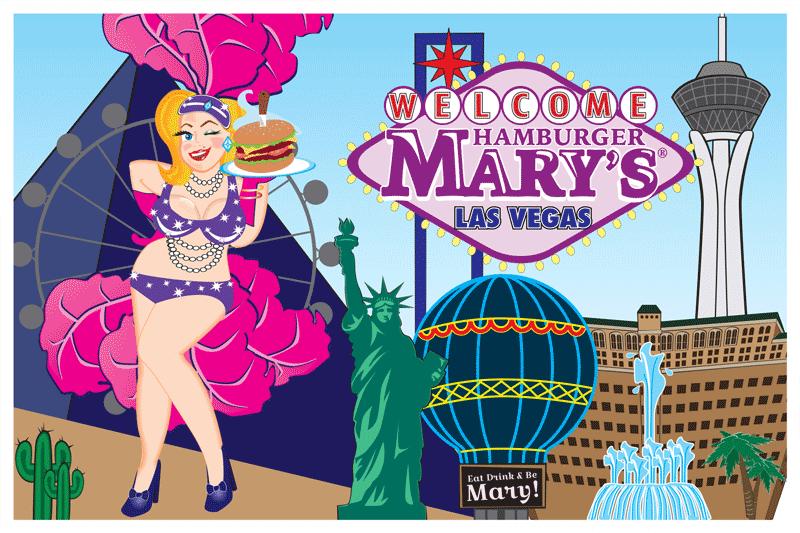 Las Vegas Postcard Front