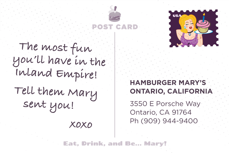 Ontario Postcard Back