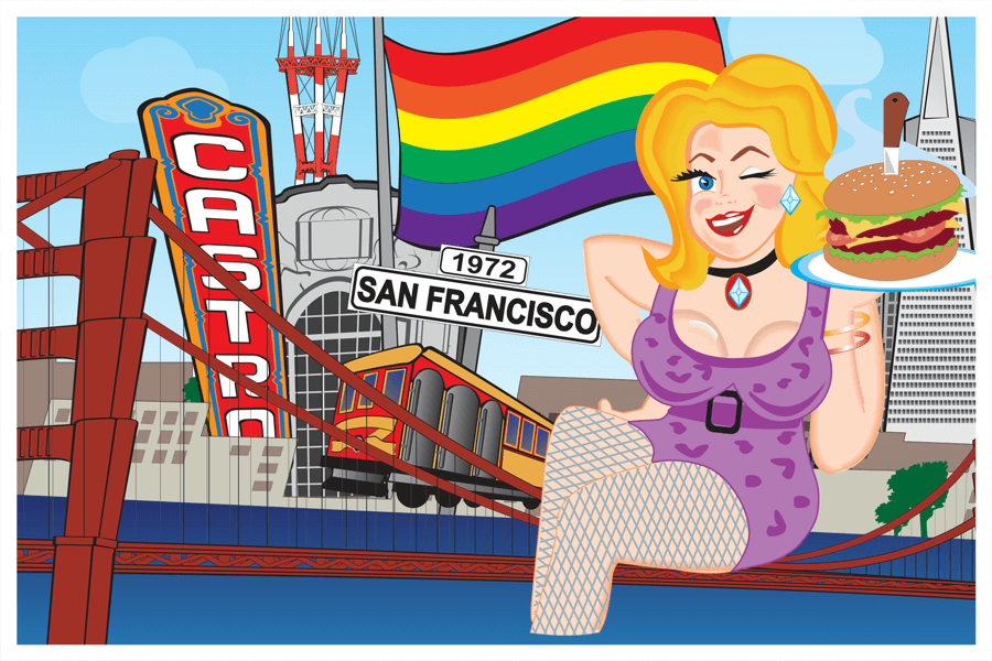 San Francisco Postcard Front